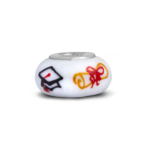 """Congrats Grad"" Celebration Bead"