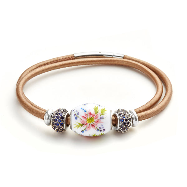 """Berries and Blossoms"" Cornerstone Bracelet"