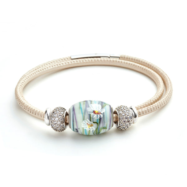 """Blooms Among the Brambles"" Cornerstone Styled Bracelet"