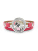 Elvis Floating Charm Wrap Bracelet: Heartthrob