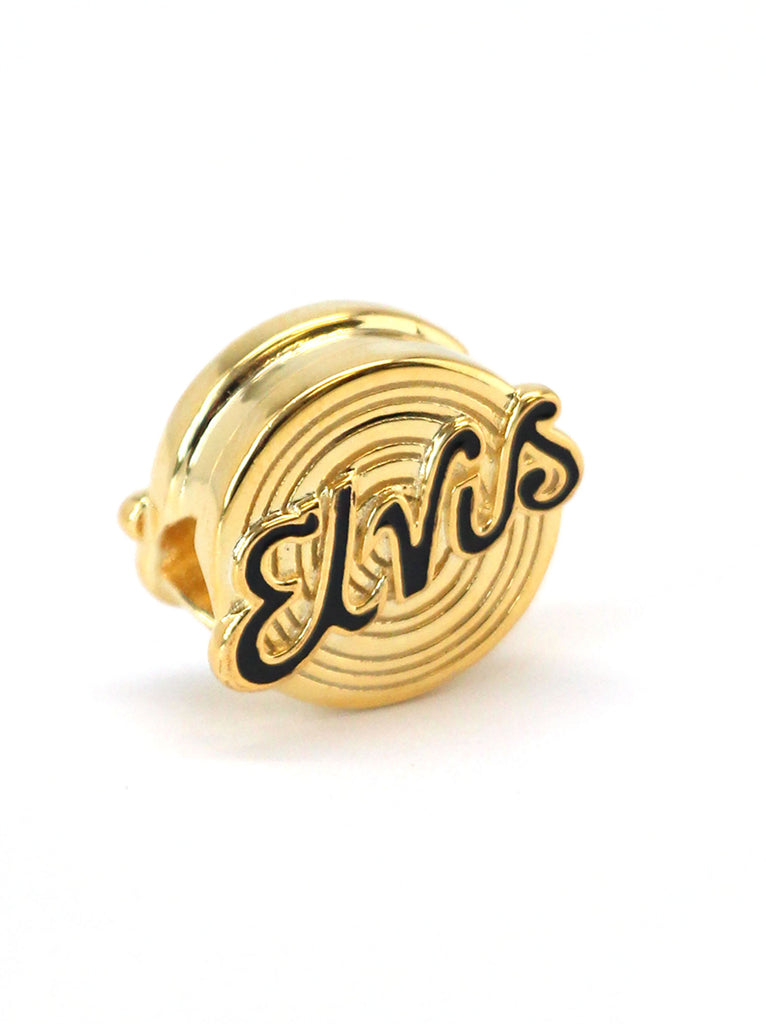 Elvis Letters Record Bead