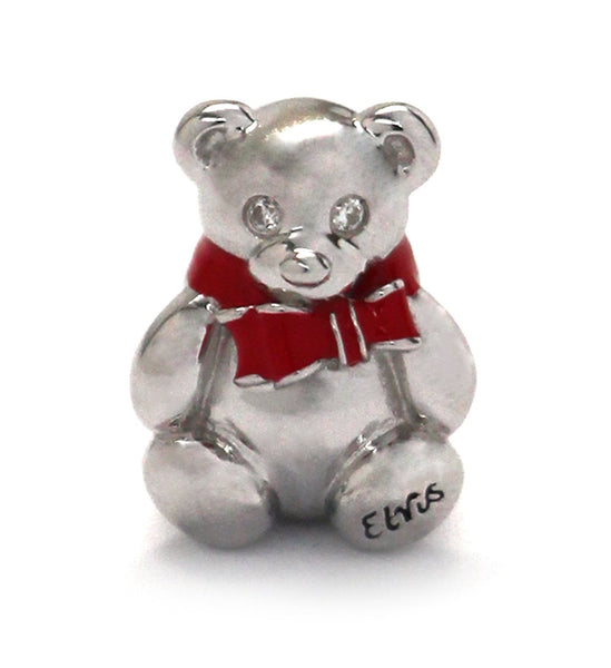 Teddy Bear Charm with Elvis Insignia