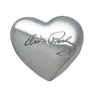Elvis Picture Heart Charm
