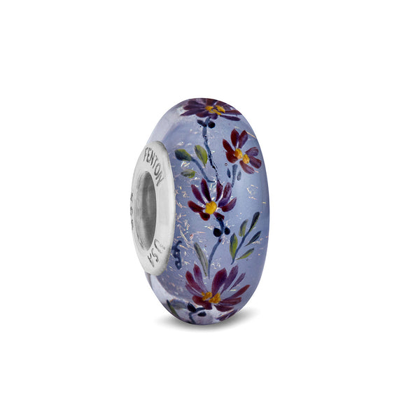 """Enchanted"" Hand Decorated Glass Bead"