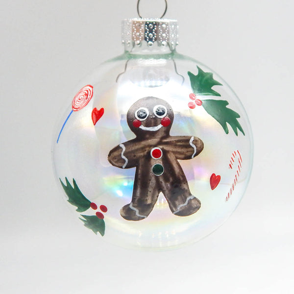 Gingerbread Man Ornament