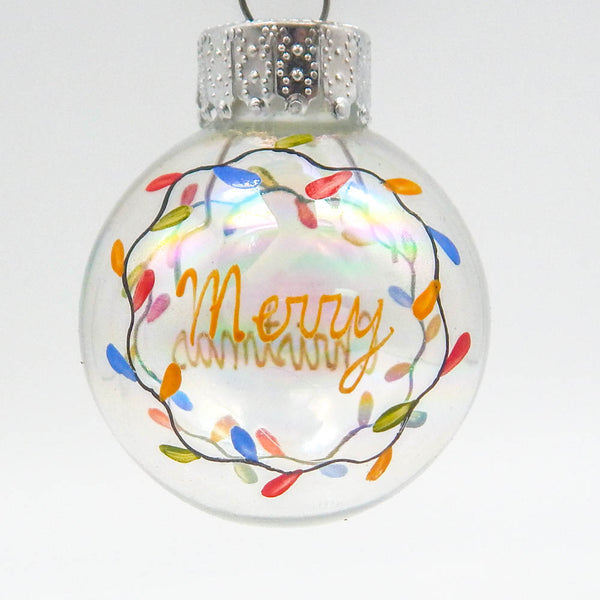 Christmas Lights Mini Ornament