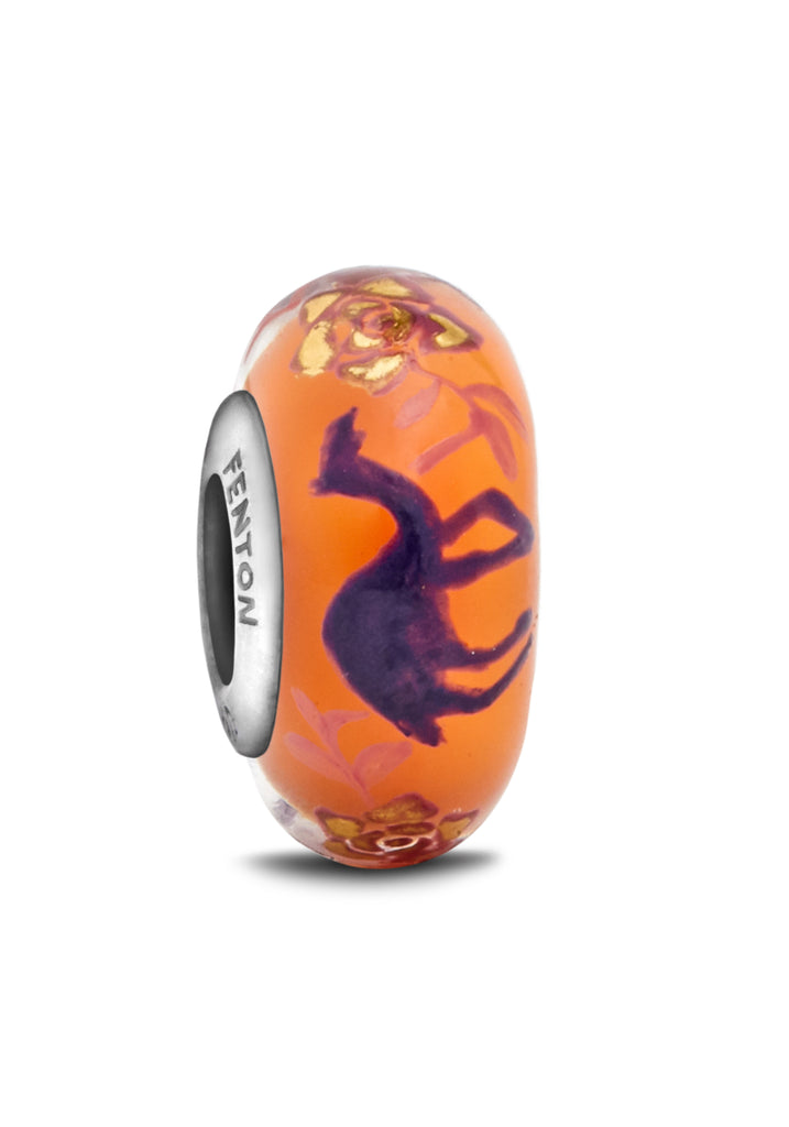 """Dreamy Wanderer"" Hand Decorated Bead"