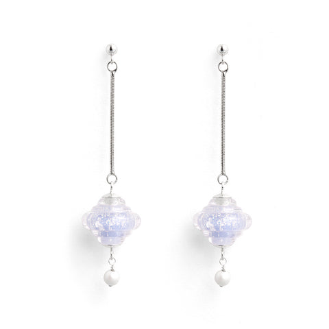 """Glace"" Baroque Earrings"