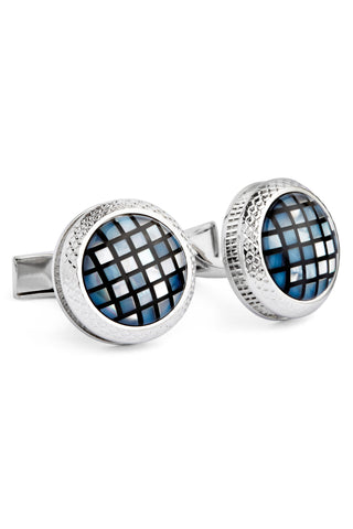 Mosaic Mother of Pearl Cufflinks