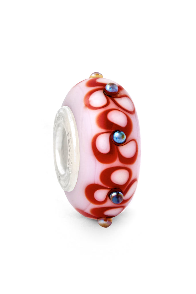 """Apple of My Eye"" Glass Crafted Bead"