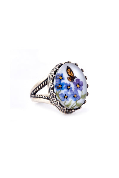 Butterfly Whisper Ring
