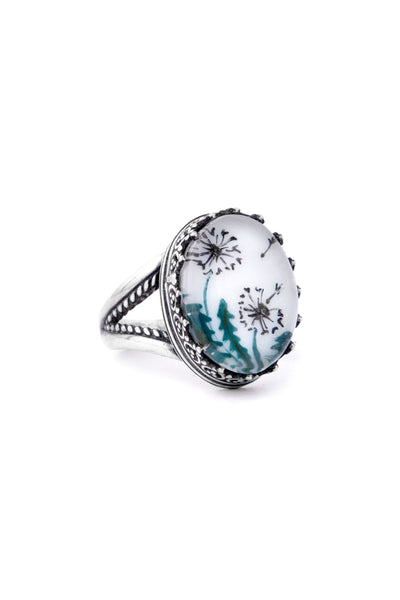 Dandelion Whisper Ring