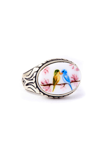 Lovebirds Ring