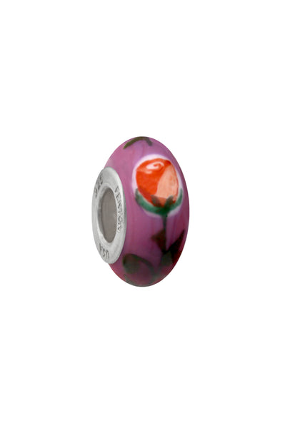 Kiss From A Rose Murano Glass Bead