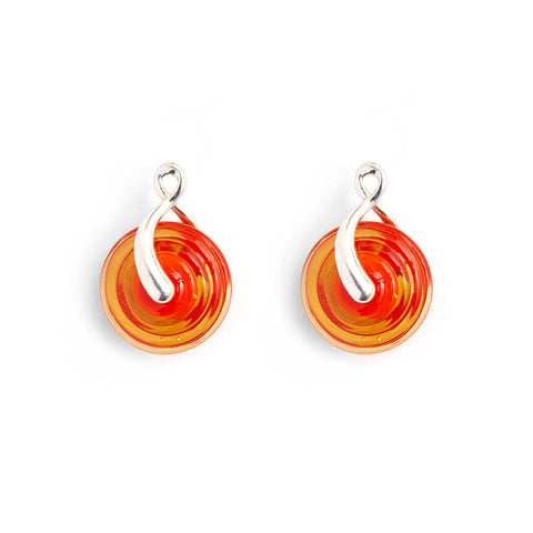 """Koi"" Paper Lantern Earrings"
