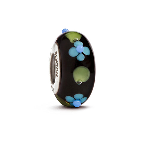 """Nighttime Garden"" Whimsy Glass Bead"