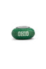 Ohio University Collegiate Green Glass Bead - Fenton Glass Jewelry - 1