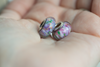 """Lavender n' Lilacs"" Glass Crafted Bead"