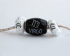 """Virgo Cornerstone"" Hand Decorated  Bead"