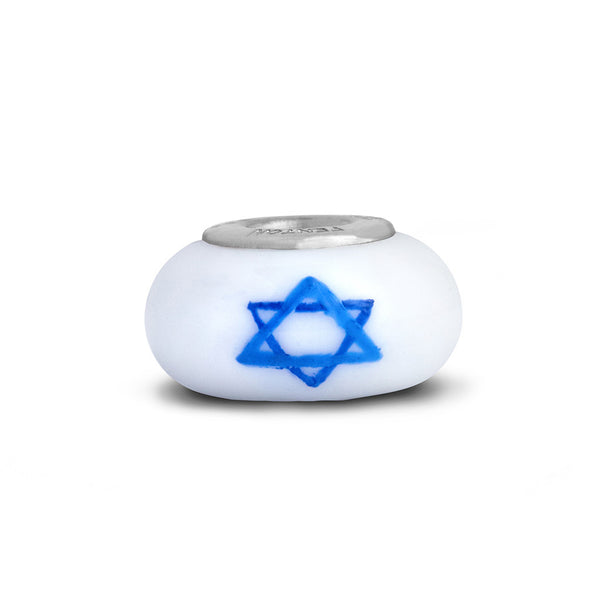 """Star of David"" Celebration Bead"