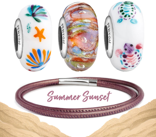 """Summer Sunset"" Coastline Bead Bundle"