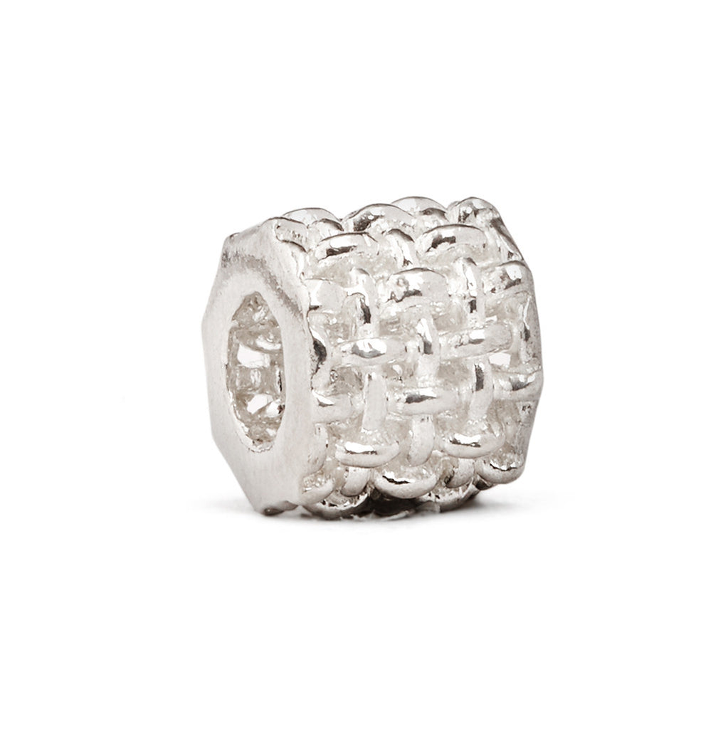 Woven Spacer Charm - Fenton Glass Jewelry