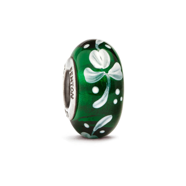 """Top O' the Morning"" St. Patricks' Day Murano Glass Bead"