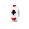"""Lucky"" Hand Decorated Glass Bead"