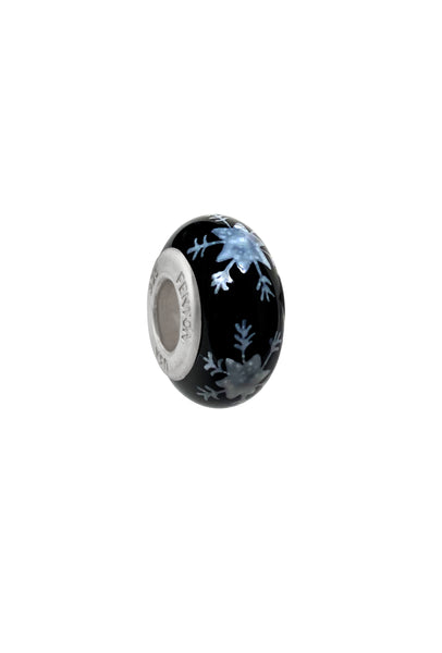 Winter Chill Murano Glass Bead