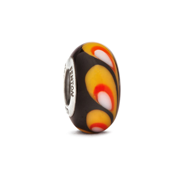 """Candy Corn"" Glass Crafted Bead - Fenton Glass Jewelry"