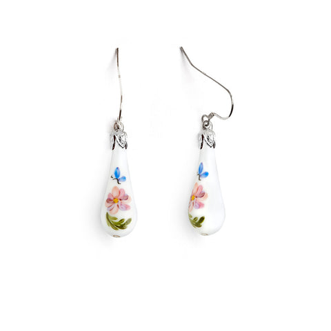 """Hope"" Teardrop Earrings"
