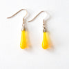 """Lemon"" Teardrop Earrings"