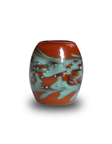 """Mojave"" Glass Cornerstone Bead"