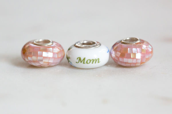 Mother's Day Bead & Spacer Bundle - Mom