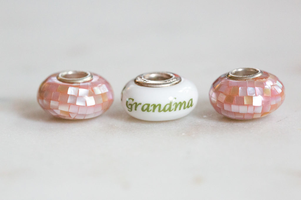 Mother's Day Bead & Spacer Bundle - Grandma