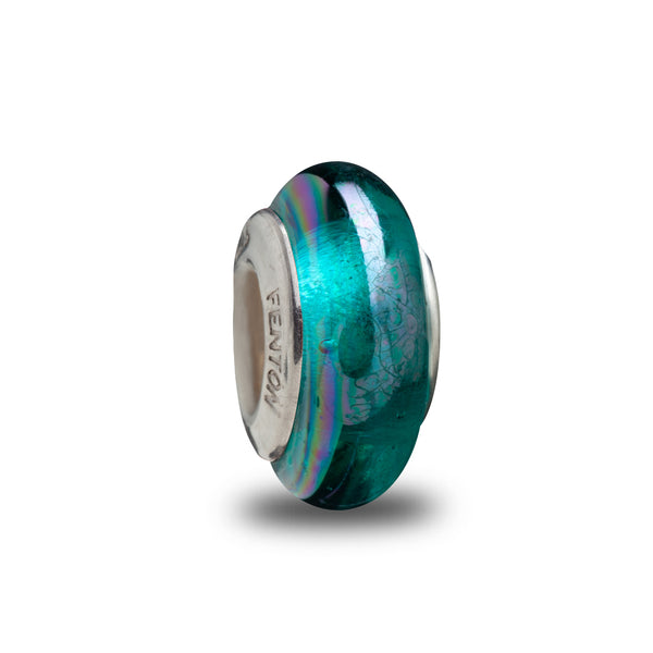 """Teal Pop"" Spacer Bead"