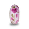 """You Are Loved"" Hand Decorated Glass Bead"