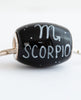 """Scorpio Cornerstone"" Hand Decorated  Bead"