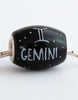 """Gemini Cornerstone"" Hand Decorated  Bead"