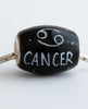"""Cancer Cornerstone"" Hand Decorated  Bead"