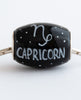 """Capricorn Cornerstone"" Hand Decorated  Bead"