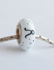 """Taurus""  Hand Decorated  Bead"