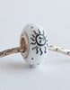 """Sun & Moon"" Hand Decorated  Bead"