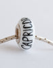 """Capricorn"" Hand Decorated  Bead"