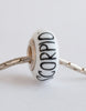 """Scorpio"" Hand Decorated  Bead"