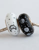 """Phases of the Moon"" Hand Decorated  Bead"