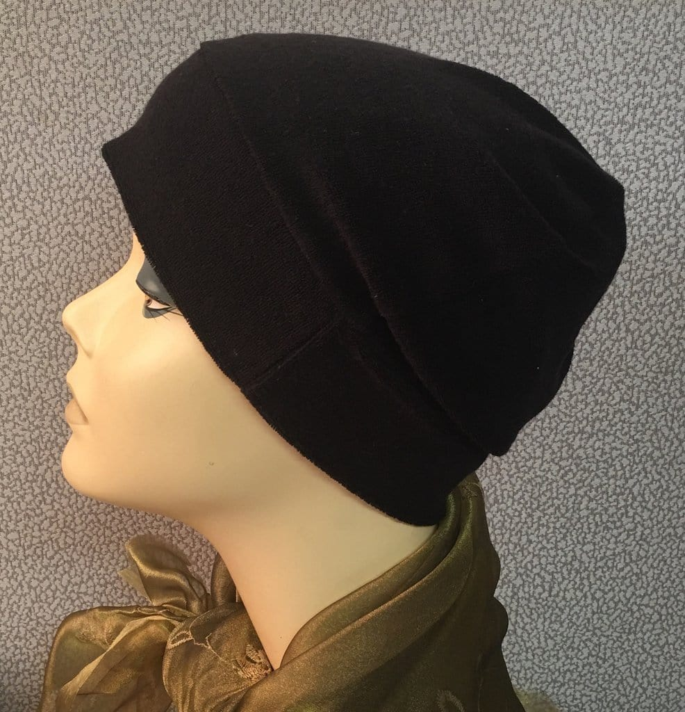 Protection From Cold or Sun. Terry Chemo Night Sleep Cap For Men and Women For Cancer Patients - Uptown Girl Headwear