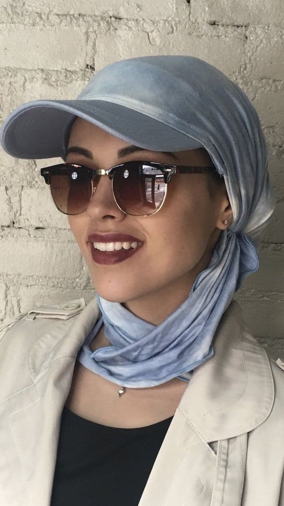 Sun Visor Headscarf Hijab Fashion Beach Hat - Uptown Girl Headwear
