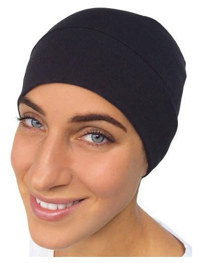 Cotton or Jersey Knit Unisex Undercover Biker Athletic Chemo Sleep Cap - Uptown Girl Headwear