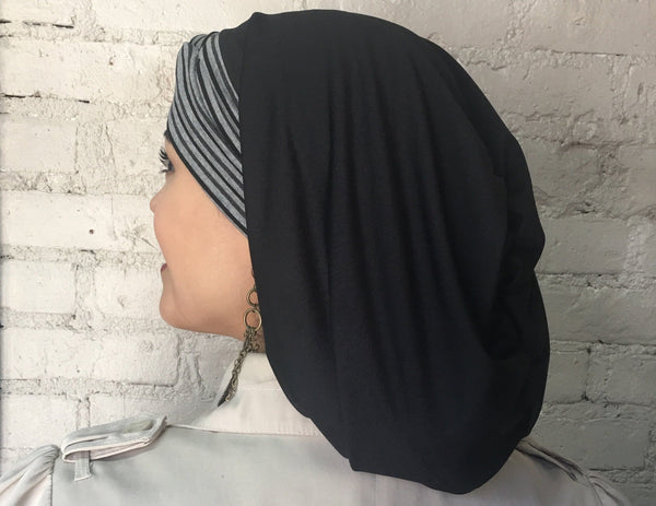Uptown Girl Headwear Athletic Style Modern Hijab, Snood, Headcovering for Women - Uptown Girl Headwear